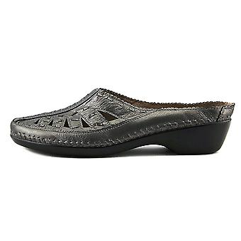 Easy Spirit Womens Dolly Leather Closed Toe Mules