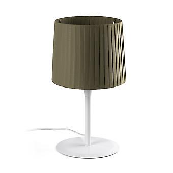 Lampe de table Vert fuselé rond, E27