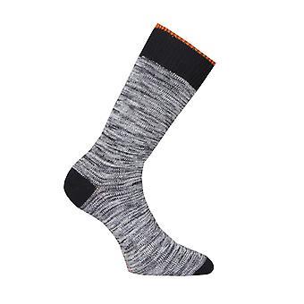 Nudie Jeans Co Rasmusson Organic Multi Yarn Socks - Black