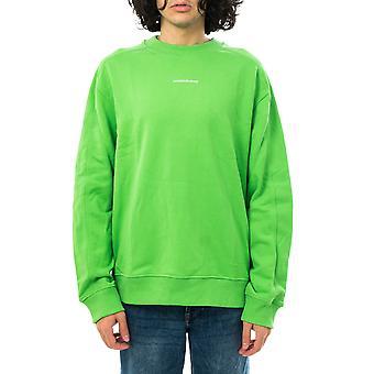 Calvin Klein micro branding sweat-shirt unisexe cn j30j318507.lyq