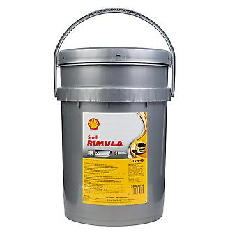 Shell Rimula R4 X 15W-40 (Formerly RT4 X) Heavy Duty Diesel Engine Oil 20 Litre