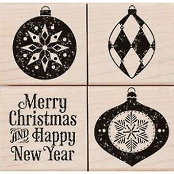 Hero Arts Traditional Ornaments Rubber Stamp