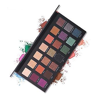 Eyeshadow Palette 21 Shades Serious Staying Power & Blendability Full-size Mirror