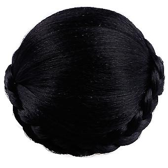 Ladies Hair Wig Hairpins Bun Chignons Hairpiece