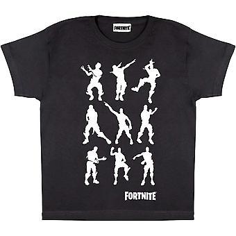 Fortnite Girls Dancing Emotes T-Shirt