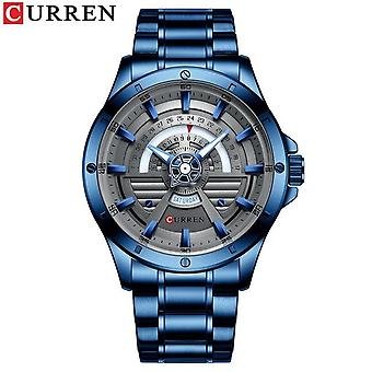 Men's Fashion Quartz Stainless Steel Watch
