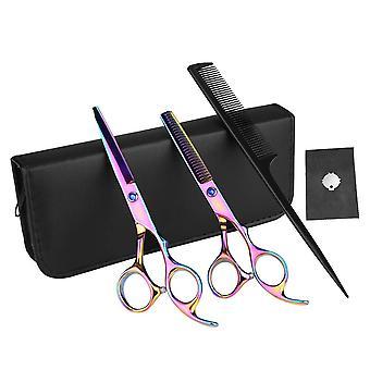FengChun Profi Haarscheren Set Friseurschere, 7 Zoll Professionelle Haarschere Friseurschere