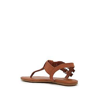 Mia Womens Martha Fabric Open Toe Casual Gladiator Sandals
