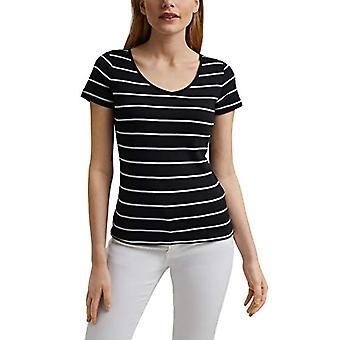 edc by Esprit 041CC1K306 T-Shirt, 001/BLACK, X-Small Woman