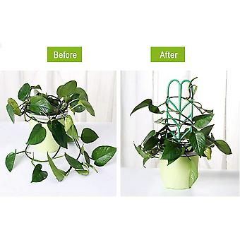 6 Pack Indoor Plant Trellis Garden Plant Vine Support Stake Cage Climbing Frame