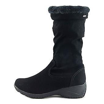 Khombu Womens Adventura Faux Fur Closed Toe Mid-Calf Cold Weather Boots