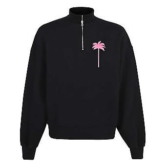 Palm Angels PXP Turtleneck Black Sweater
