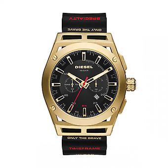Mænds Watch DIESEL URE DZ4546 - Silikone Strap Black