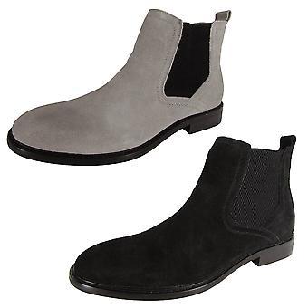 Steve Madden Mens Aziz-S Pull On Chelsea Boot Shoes