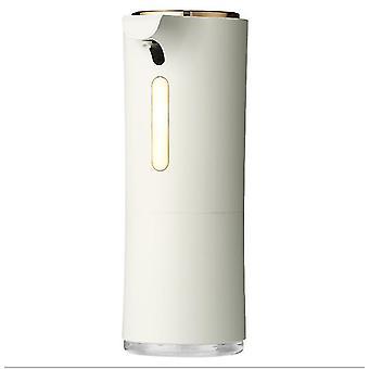 أبيض 550ml الأشعة تحت الحمراء الاستشعار التلقائي غير الاتصال موزع الصابون للحمام والمطبخ az5789