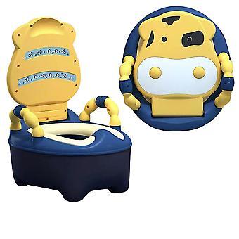 قعادة مقعد التدريب مقعد المرحاض طفل مع وسادة لينة للبنين والبنات سهلة التنظيف وسهلة الاستخدام