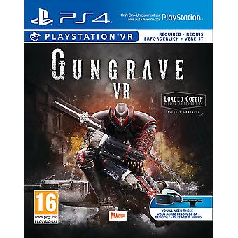 Gungrave VR Loaded Coffin Edition PS4 Game (PSVR Required)