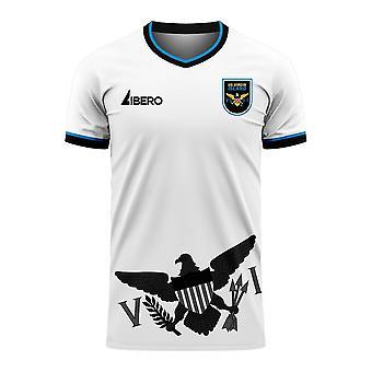 US Virgin Islands 2020-2021 Home Concept Football Kit (Libero) - Baby