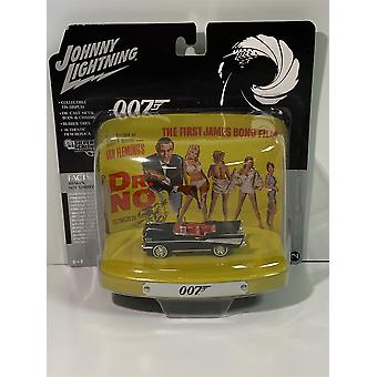 James Bond 007 Dr No 1957 Chevy Bel Air Collectors Tin 1:64 Johnny Lightning
