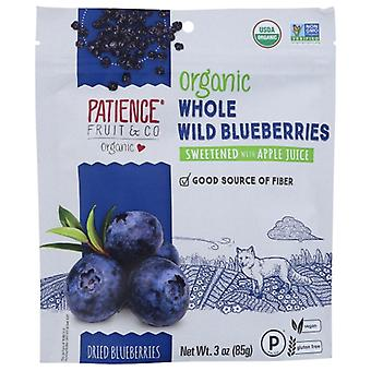 Patience Fruit & Co Blubry Wld Drd Sft Org, Case of 8 X 3 Oz