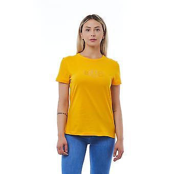 Camiseta Amarillo Cerruti 1881 Mujer