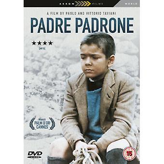Padre Padrone DVD (2007) Omero Antonutti Taviani (DIR) cert 15 2 discos Região 2