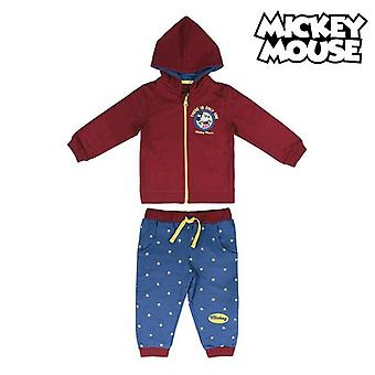 Children's Tracksuit Mickey Mouse 74706 Burgundy