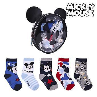 Socks Mickey Mouse Multicolour (5 pares)