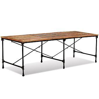 vidaXL ruokasali pöytäjäte puu kiinteä 240 cm