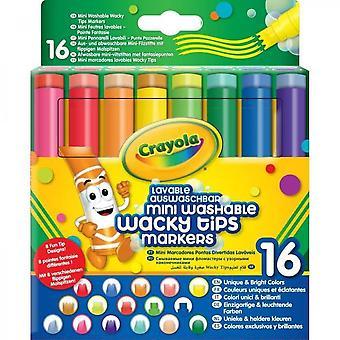 Crayola - 58-8709 - 16 Washable Felt Tip Pens ...