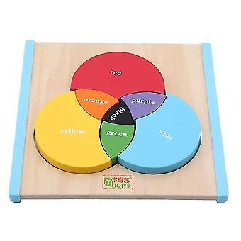 جديد خشبي الاطفال اللعب ثلاثة أطفال الابتدائية التعليمية الطفل تعلم اللعب للأطفال| الكتل
