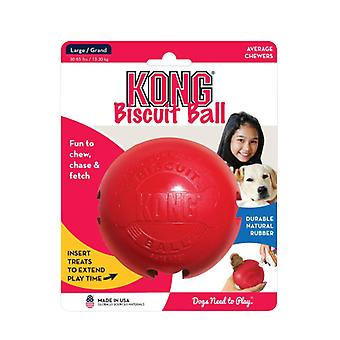 Kong classic biscuit ball dog toy