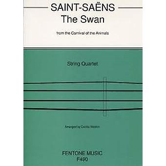 The Swan From 'The Carnival Of The Animals' String Quartet Set (Score & Parts)