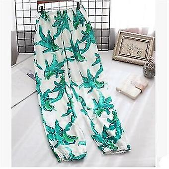 Cotton Trousers Thin Section Loose Breathable Women Long Pants