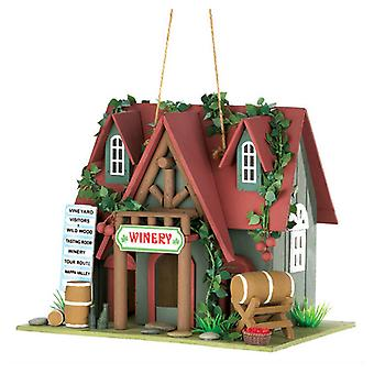 Songbird Valley Cottage Winery Birdhouse, Pack of 1