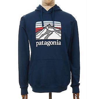 Patagonia Line Logo Ridge Uprisal Hooded Sweatshirt - Crater Blue