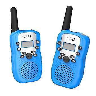 Kids Walkie-talkies, 3 km outdoor wireless conversation(Blue)