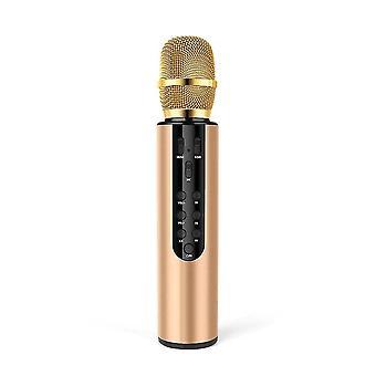 Microphones portable bluetooth microphone wireless9 golden
