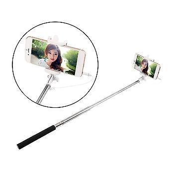 Matkustaa kädessä pidettävä kamera Itseajastin Vipu Selfie Matkapuhelin Monopod Stick