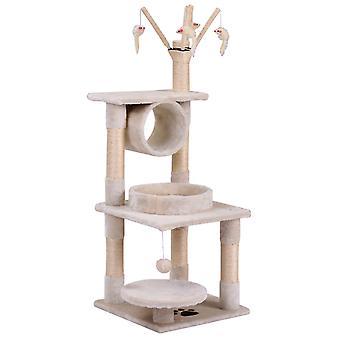 Malá kočka 124 cm Play Tower House Škrábací sloupek