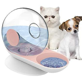 Små kæledyr vand dispenser hunde katte tyngdekraft vander feeder skål auto