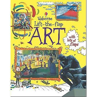 """""""taide"""" Usborne Lift-the-flap Hauska Lasten palapeli korttikirja toiminta Lukeminen Kirjat Lapset Ikä 4-8 Montessori Koulutus lelut"""