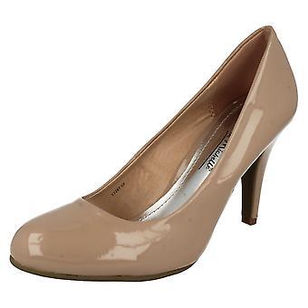 Ladies Anne Michelle Heeled Court Shoe
