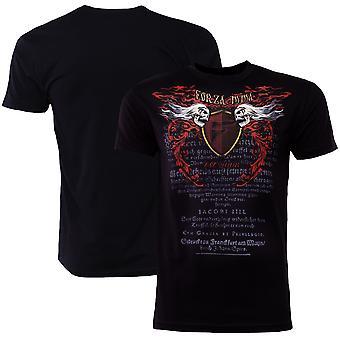 """Forza Sports """"Immortal Crest"""" MMA T-Shirt - Black"""