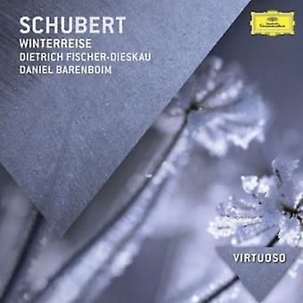 Fischer-Dieskau, Dietrich/Daniel Barenboim - Schubert: Winterreise [CD] USA import