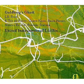 United Instruments of Lucilin - Goldberg's Ghost [CD] USA import