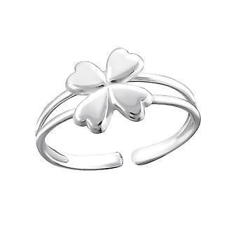 3d flower - 925 Sterling Silver Toe Rings - W18502X