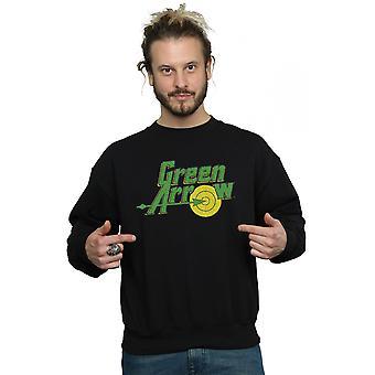 DC كاريكاتير الرجال & apos;ق السهم الأخضر كراكل شعار قميص