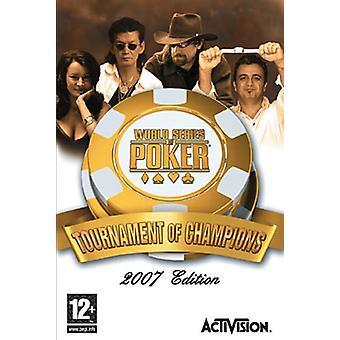 World Series of Poker Tournament Champions (Wii) - New