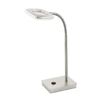 Eglo LED Table Lamp Light Nickel Matt Litago